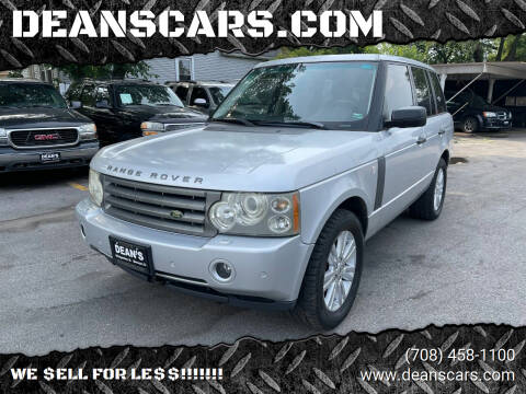 2006 Land Rover Range Rover for sale at DEANSCARS.COM in Bridgeview IL
