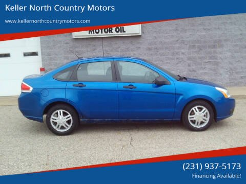 2010 Ford Focus for sale at Keller North Country Motors in Howard City MI