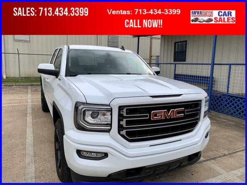 2016 GMC Sierra 1500 for sale at HOUSTON CAR SALES INC in Houston TX