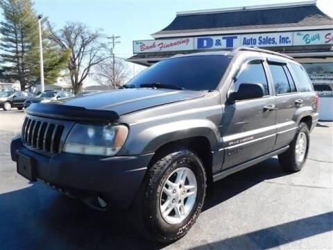 2004 Jeep Grand Cherokee for sale at D & T Auto Sales, Inc. in Henderson KY