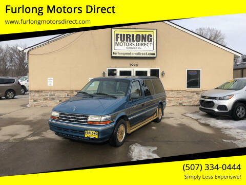 1992 Plymouth Grand Voyager for sale at Furlong Motors Direct in Faribault MN