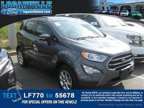 2019 Ford EcoSport for sale at Loganville Quick Lane and Tire Center in Loganville GA