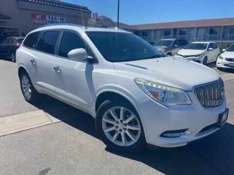 2016 Buick Enclave for sale at Boulevard Motors in Saint George UT