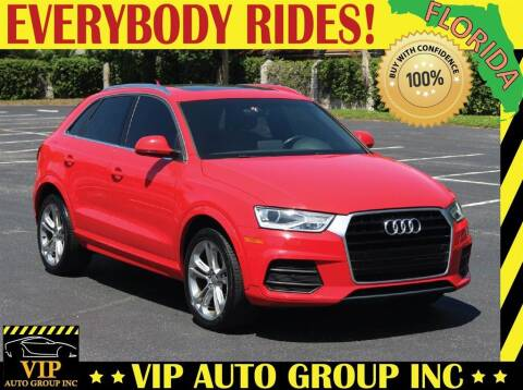 2017 Audi Q3 for sale at VIP Auto Group in Clearwater FL
