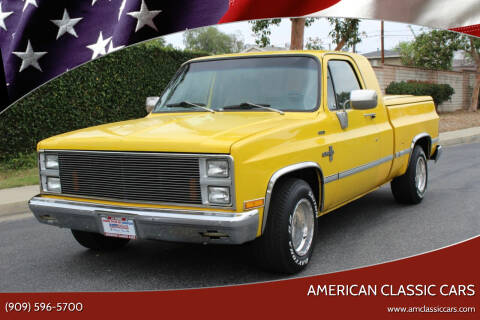 1981 Chevrolet C/K 10 Series for sale at American Classic Cars in La Verne CA