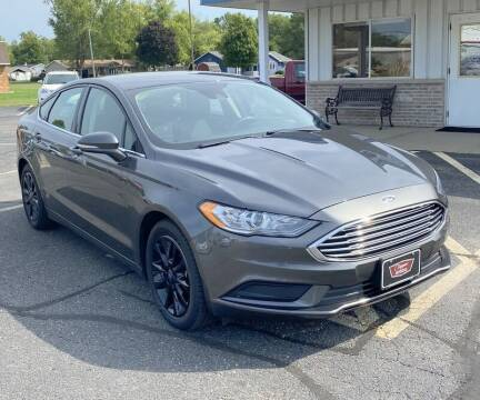 2017 Ford Fusion for sale at Clapper MotorCars in Janesville WI