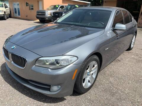 2013 BMW 5 Series for sale at Gold Motors Auto Group Inc in Tampa FL