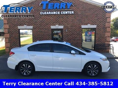2013 Honda Civic for sale at Terry Clearance Center in Lynchburg VA