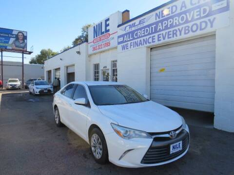 2016 Toyota Camry for sale at Nile Auto Sales in Denver CO