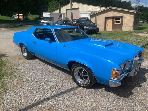 1972 Mercury Cougar for sale at Martin Auto Sales in West Alexander PA
