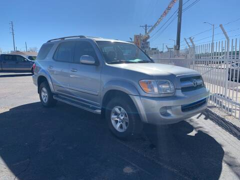 2005 Toyota Sequoia for sale at Robert B Gibson Auto Sales INC in Albuquerque NM