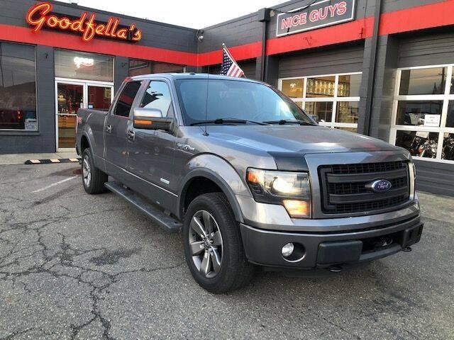 2013 Ford F-150 for sale at Goodfella's  Motor Company in Tacoma WA