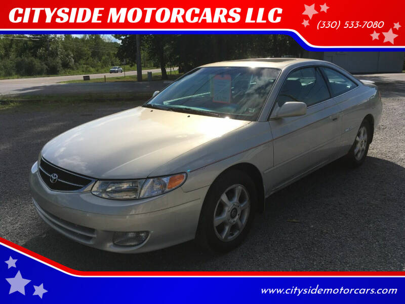 2000 Toyota Camry Solara for sale at CITYSIDE MOTORCARS LLC in Canfield OH