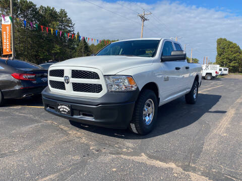 2016 RAM Ram Pickup 1500 for sale at Affordable Auto Sales in Webster WI