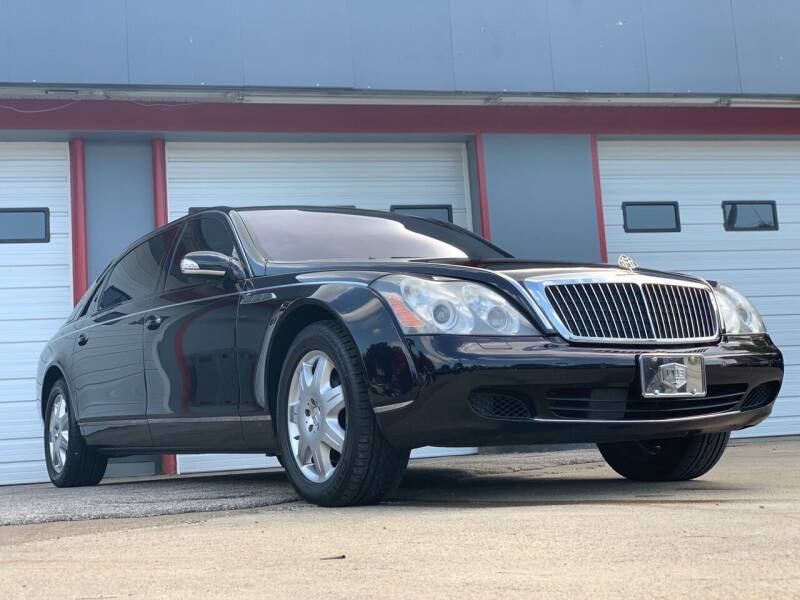 2004 Maybach 62 for sale at P.G.P. Exotic Auto Sales Inc. in Owensboro KY