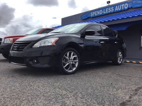 2013 Nissan Sentra for sale at SPEND-LESS AUTO in Kingman AZ