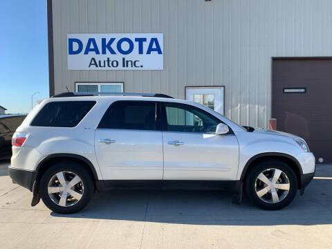2012 GMC Acadia for sale at Dakota Auto Inc. in Dakota City NE