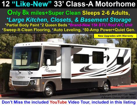2012 Coachmen Mirada 32DS Motorhome