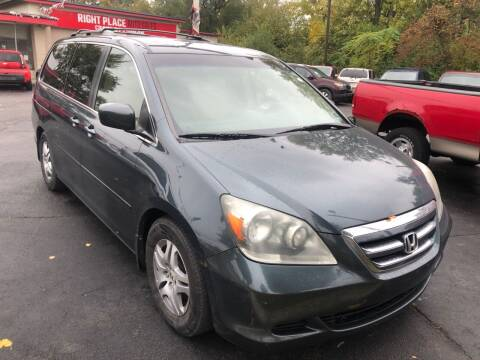 2005 Honda Odyssey for sale at Right Place Auto Sales in Indianapolis IN