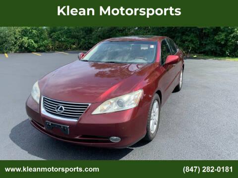 2007 Lexus ES 350 for sale at Klean Motorsports in Skokie IL