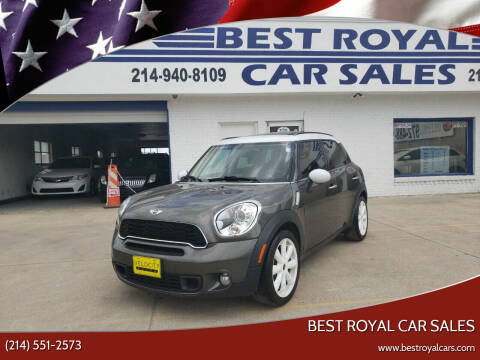 2012 MINI Cooper Countryman for sale at Best Royal Car Sales in Dallas TX