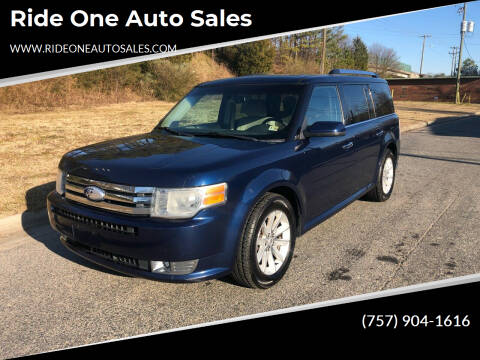 2012 Ford Flex for sale at Ride One Auto Sales in Norfolk VA
