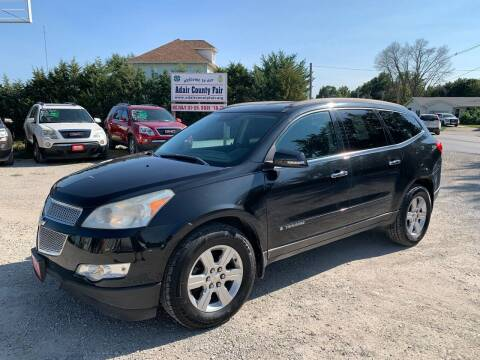 2009 Chevrolet Traverse for sale at GREENFIELD AUTO SALES in Greenfield IA