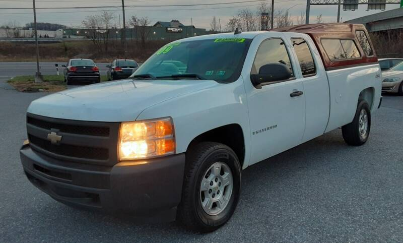 2009 Chevrolet Silverado 1500 for sale at Bik's Auto Sales in Camp Hill PA