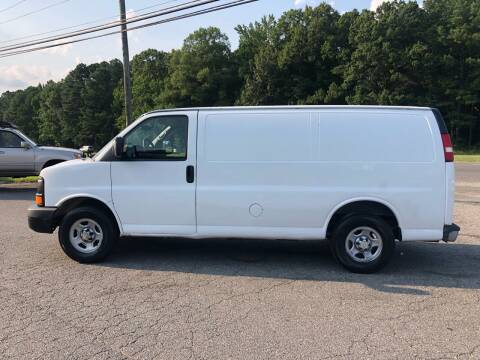 2005 Chevrolet Express Cargo for sale at CVC AUTO SALES in Durham NC