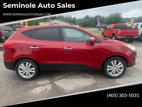 2013 Hyundai Tucson for sale at Seminole Auto Sales in Seminole OK