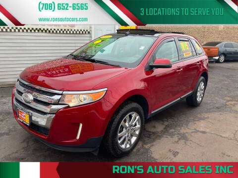 2013 Ford Edge for sale at RON'S AUTO SALES INC in Cicero IL