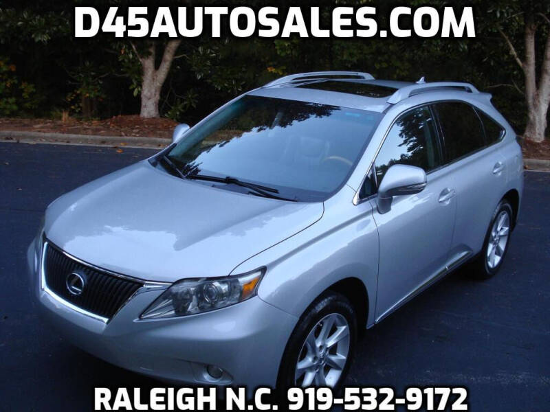 2010 Lexus RX 350 for sale at D45 Auto Brokers in Raleigh NC