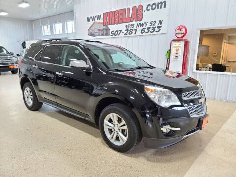 2011 Chevrolet Equinox for sale at Kinsellas Auto Sales in Rochester MN