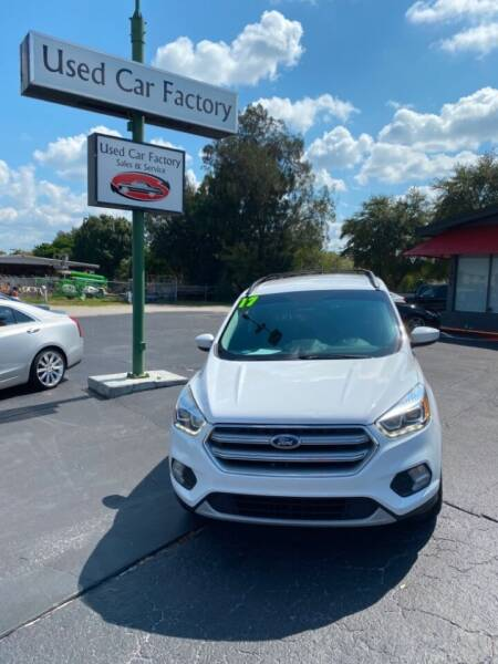 2017 Ford Escape for sale at Used Car Factory Sales & Service in Bradenton FL