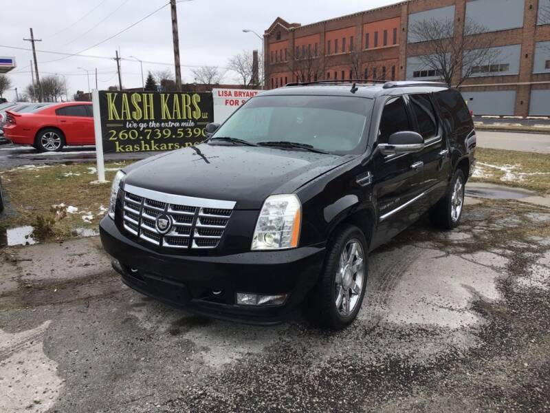 2010 Cadillac Escalade ESV for sale at Kash Kars in Fort Wayne IN