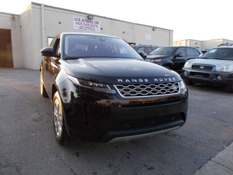 2020 Land Rover Range Rover Evoque for sale at ACH AutoHaus in Dallas TX