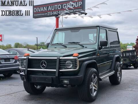 1991 Mercedes-Benz G-Class for sale at Divan Auto Group in Feasterville PA