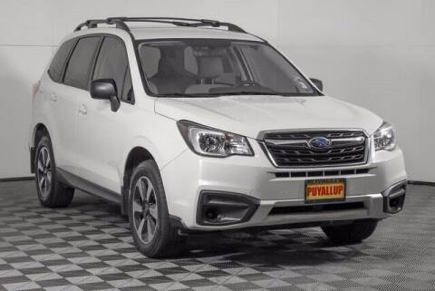 2018 Subaru Forester for sale at Washington Auto Credit in Puyallup WA