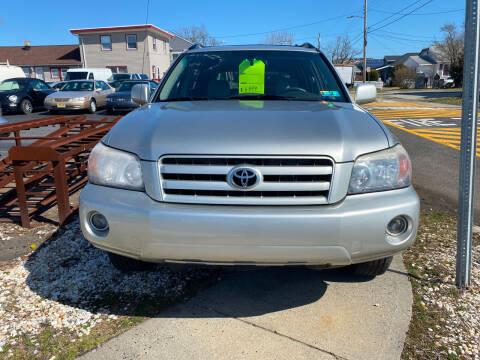 2005 Toyota Highlander for sale at Diamond Auto Sales in Pleasantville NJ