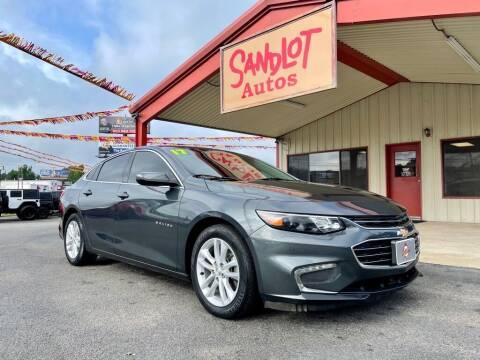 2017 Chevrolet Malibu for sale at Sandlot Autos in Tyler TX