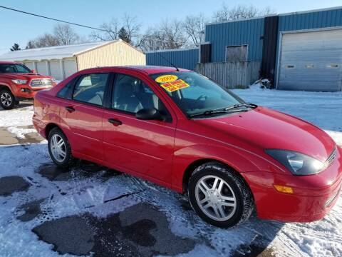 2004 Ford Focus for sale at CENTER AVENUE AUTO SALES in Brodhead WI