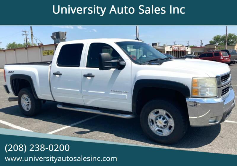 2008 Chevrolet Silverado 2500HD for sale at University Auto Sales Inc in Pocatello ID