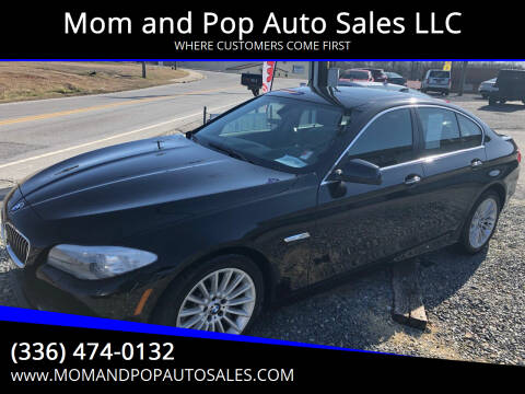 2013 BMW 5 Series for sale at Mom and Pop Auto Sales LLC in Thomasville NC