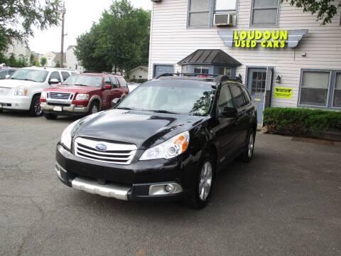 2012 Subaru Outback for sale at Loudoun Used Cars in Leesburg VA