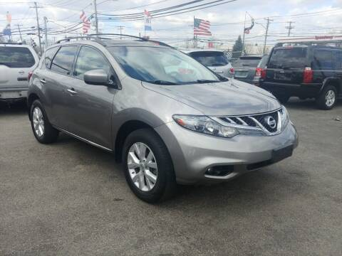 2011 Nissan Murano for sale at Viking Auto Group in Bethpage NY