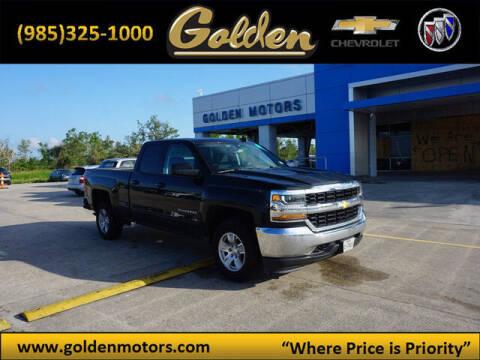 2019 Chevrolet Silverado 1500 LD for sale at GOLDEN MOTORS in Cut Off LA