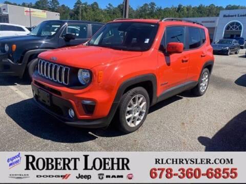 2019 Jeep Renegade for sale at Robert Loehr Chrysler Dodge Jeep Ram in Cartersville GA