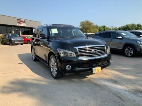 2011 Infiniti QX56 for sale at KIAN MOTORS INC in Plano TX