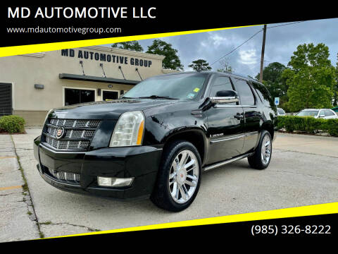 2009 Cadillac Escalade for sale at MD AUTOMOTIVE LLC in Slidell LA