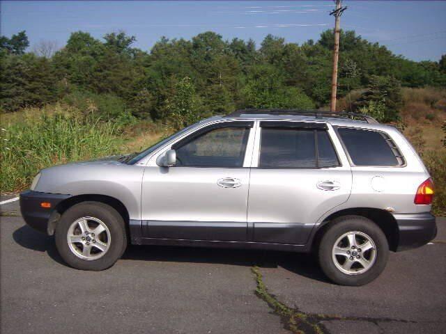 2003 Hyundai Santa Fe for sale at Broadway Motors LLC in Broadway VA